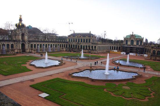 Slottet Swinger i Dresden