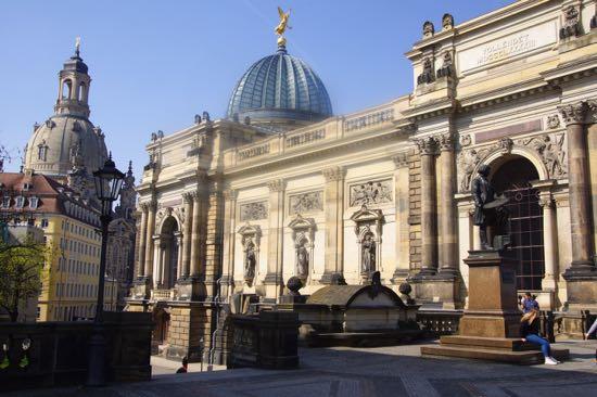 Byen Dresden i Tyskland