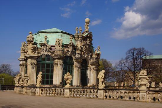 Slottet Zwinger i Dresden