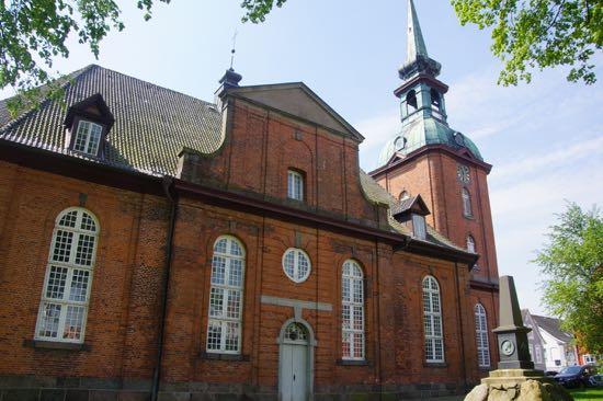 Senbarokke kirken Sankt Nikolaj